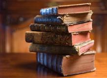Livres de mystère. Photos stock
