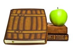 livres de pomme Photos libres de droits