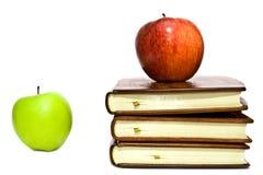 livres de pommes Images libres de droits