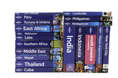 Livres de voyage Photo stock