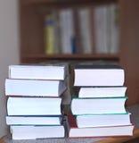Livres empilés Photo stock