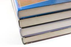 Livres empilés vers le haut Photos libres de droits