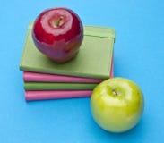 Livres et éducation ou soins de santé Image stock