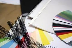 Livres et approvisionnements Image libre de droits