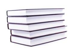 Livres et lunettes Images stock