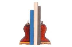 Livres et serre-livres Photographie stock libre de droits