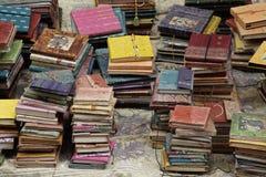 Livres fabriqués à la main Image libre de droits