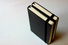 Livres noirs Photo libre de droits