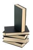 livres noirs cinq Images libres de droits