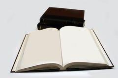 Livres ouverts Photographie stock libre de droits