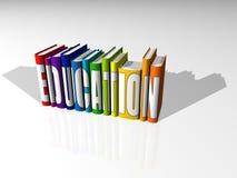 Livres pour une meilleure éducation Photographie stock