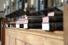 Livres sacrés Image stock