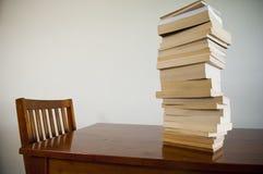 Livres sur le Tableau Image libre de droits