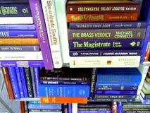 Livres utilisés et livres de poche Images libres de droits