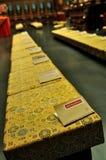 Livret explicatif sur le siège de prière Photographie stock