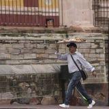 Livreur de Guanajuato Mexique Photos stock