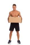Livreur musculaire Photos stock