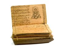 Livro 2 de Buda Imagens de Stock