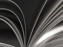 Livro aberto Foto de Stock Royalty Free