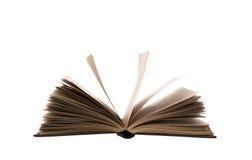 Livro aberto isolado (com o trajeto do trabalho do grampeamento Fotos de Stock