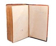 Livro aberto velho Fotografia de Stock