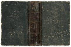 Livro aberto velho 1875 Imagens de Stock