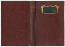 Livro aberto velho 1904 Fotografia de Stock