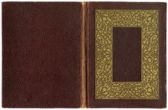 Livro aberto velho 1920 Imagens de Stock Royalty Free