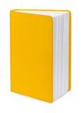 Livro amarelo imagens de stock royalty free