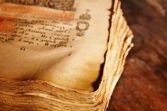 Livro antigo Fotos de Stock Royalty Free