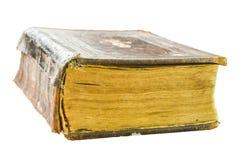 Livro antigo da igreja em um fundo transparente imagem de stock royalty free