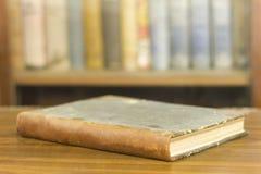 Livro antigo, fim acima Fotos de Stock