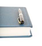 Livro azul imagens de stock royalty free