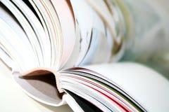 Livro borrado Imagens de Stock