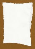Livro Branco áspero Fotos de Stock