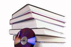 Livro CD fotos de stock royalty free
