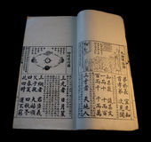Livro chinês velho 3 Foto de Stock Royalty Free