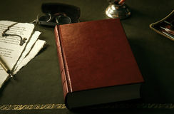 Livro com tampa vazia Imagens de Stock Royalty Free