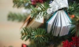 Livro da árvore Foto de Stock Royalty Free