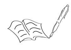 Livro da arte - vetor ilustração royalty free