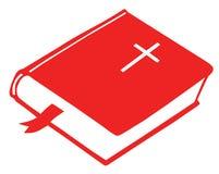 Livro da Bíblia ilustração royalty free
