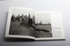 Livro da fotografia por Nick Yapp, o submarino a energia nuclear do ` s primeiro do mundo Foto de Stock
