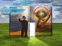 Livro da imaginação ilustração do vetor