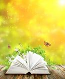 Livro da natureza Fotografia de Stock Royalty Free