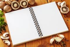Livro da receita Imagem de Stock