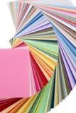 Livro das amostras de folha da cor Fotografia de Stock Royalty Free