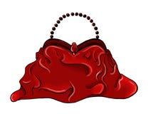 Livro de bolso flexível vermelho Fotos de Stock