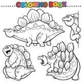 Livro de coloração ilustração stock