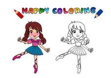 Livro de coloração isolado Foto de Stock