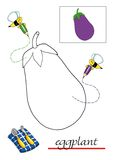 Livro de coloração para as crianças 7 ilustração royalty free